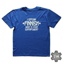 I speak Finnish - what is...