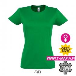 T-Paita Kelly Vihreä Lady