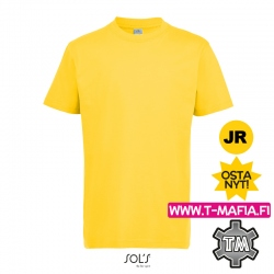 T-Paita Kulta/Keltainen Lasten