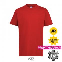 T-Paita Punainen Lasten
