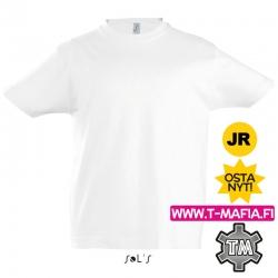 T-Paita Valkoinen Lasten
