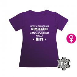 Taas hortoilemassa T-paita