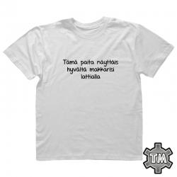 Tämä paita näyttäis hyvältä...
