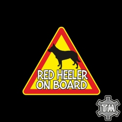 Red Heeler On Board...