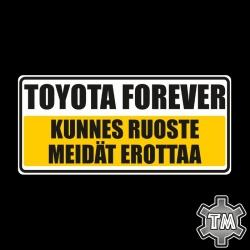TOYOTA Forever - kunnes...