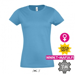 T-Paita Aqua Lady