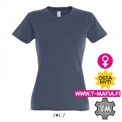T-Paita Denim sininen Lady