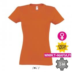 T-Paita Oranssi Lady