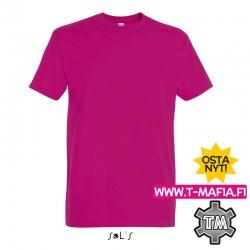 T-Paita Pinkki/Fuksia