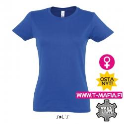 T-Paita Royal Sininen Lady