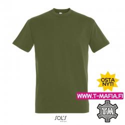 T-Paita Tumma khaki