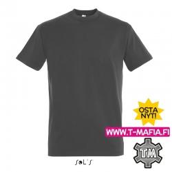 T-Paita Tummanharmaa