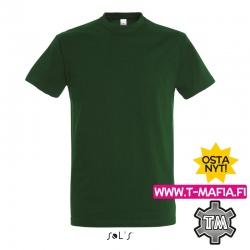 T-Paita Tummanvihreä