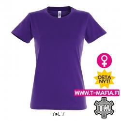 T-paita violetti Lady