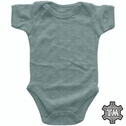 Vauvan Body Meleerattu Harmaa