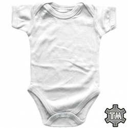 Vauvan Body Valkoinen