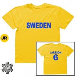 SVERIGE/SWEDEN pelipaita (JR)