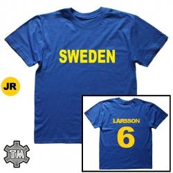 SVERIGE/SWEDEN pelipaita...